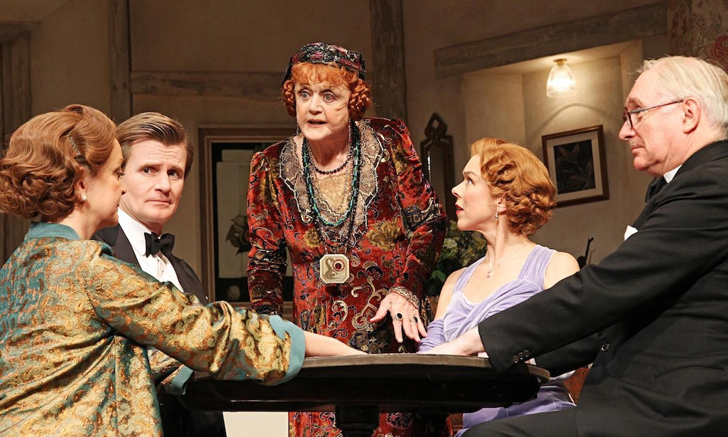 Blithe Spirit at the Gielgud TheatreBlithe Spirit at the Gielgud TheatreBlithe Spirit at Gielgud